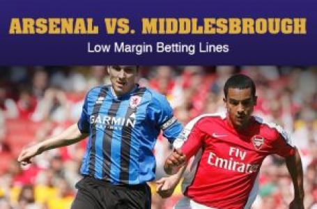 Arsenal vs. MIddlesbrough – Low Margin Betting Lines