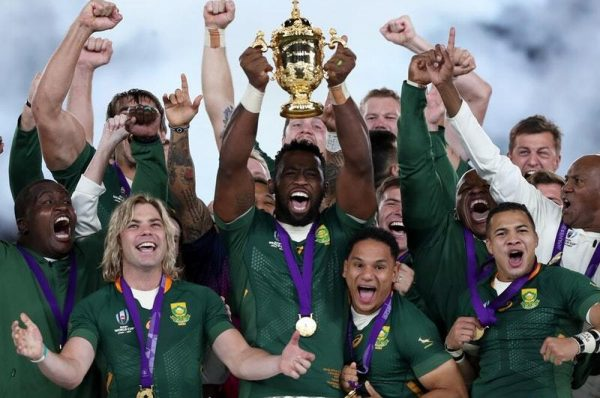 South Africa wins Rugby World Cup
