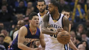 Grizzlies Troy Daniels traded to the Phoenix
