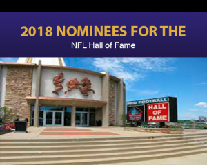 2018 nominees for the NFL Hall of Fame