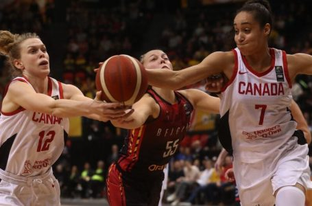 Canada tops Belgium in opener of Olympic women´s basketball