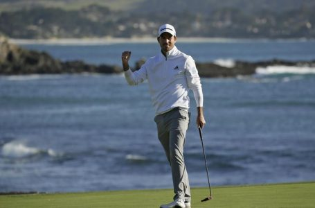 Canada´s Nick Taylor wins at Pebble Beach