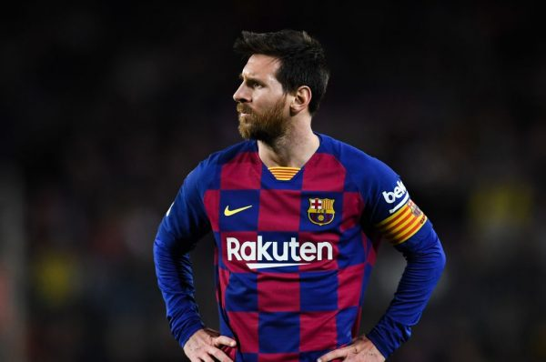 Upset Messi Looking to leave Barcelona