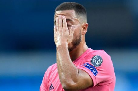 Eden Hazard with another injury setback