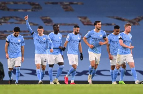 Manchester City thrash West Brom to go top of Premier League