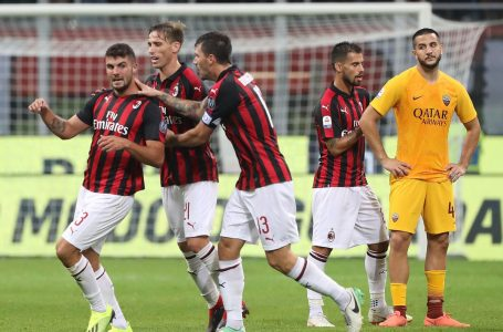 Milan beat Roma to keep pace with Inter in Serie A title race
