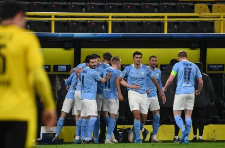 Manchester City beat Borussia Dortmund to reach Champions League semis