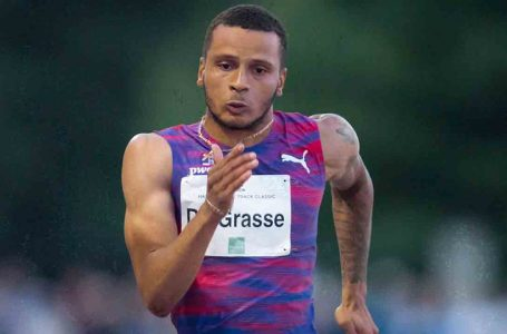 Canada's Andre De Grasse opens season with a fast 9.99 in Florida