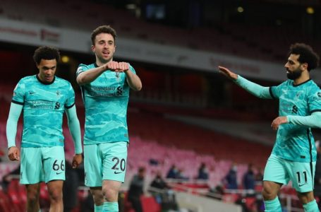 Arsenal suffer defeat to Liverpool