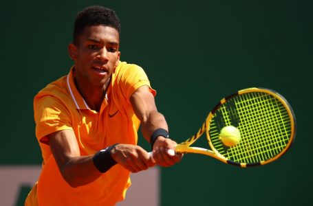 Rain suspends Monte Carlo Masters play, Canada's Auger-Aliassime resumes Tuesday