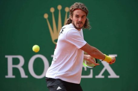 Tsitsipas dominates Monte Carlo Masters final for his 1st title of 2021